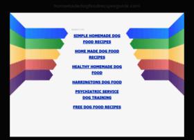homemadedogfoodrecipesguide.com