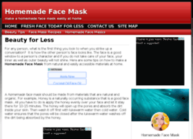 homemadefacemask.org