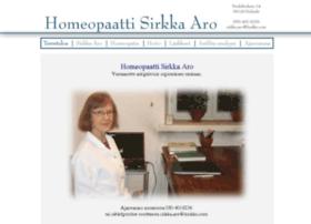 homeopaattisirkkaaro.fi