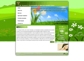 homeopathicclinicinsouthdelhi.in