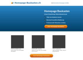 homepage-baukasten.ch