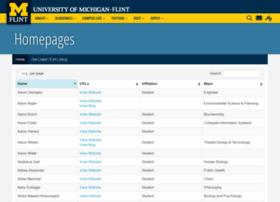 homepages.umflint.edu