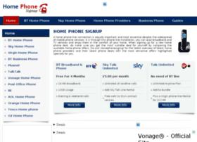 homephonesignup.co.uk