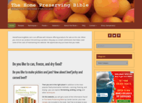 homepreservingbible.com