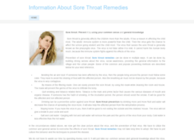 homeremediesofsorethroat.weebly.com
