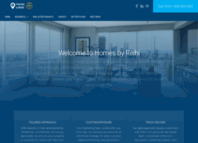 homesbyrishi.com
