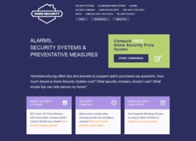 homesecurity.org