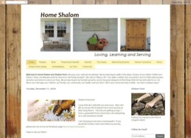 homeshalom.blogspot.co.nz