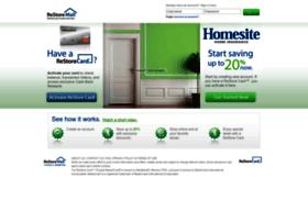 homesite.restorecard.com