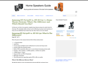 homespeakersguide.com