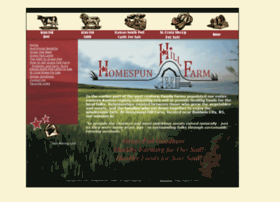 homespunhillfarm.com