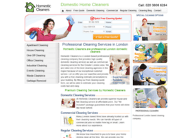 homesticcleaners.co.uk