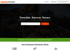hometowndemolitioncontractors.com