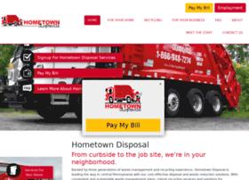 hometowndisposalonline.com
