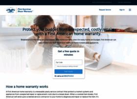 homewarranty.firstam.com