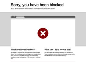 homeworkminutes.com