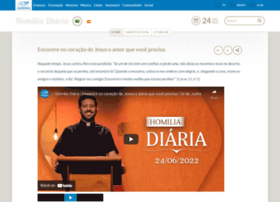 homilia.cancaonova.com