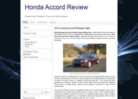 honda-accord-review.blogspot.com