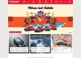 hondacarsindia.com