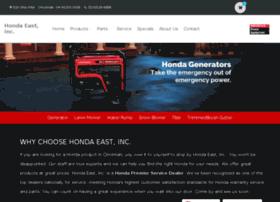 hondaeastpowerequipment.com