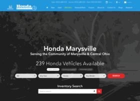 hondamarysville.com