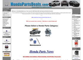 hondapartsdeals.com