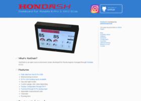 hondash.com