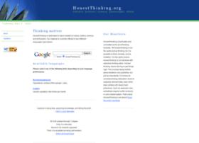 honestthinking.org