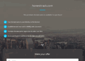 honesttrack.com