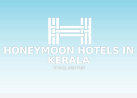 honeymoonhotelsinkerala.com