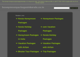 honeymoonpackagesinkerala.co.in
