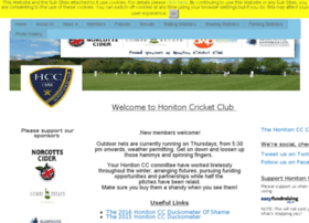 honiton.play-cricket.com