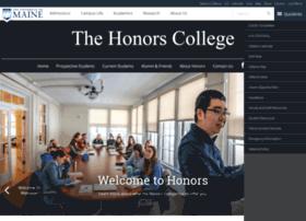 honors.umaine.edu