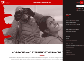 honors.utah.edu