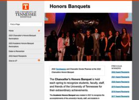 honorsbanquet.utk.edu