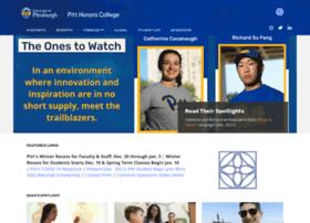 honorscollege.pitt.edu