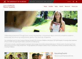 honorsocieties.ua.edu