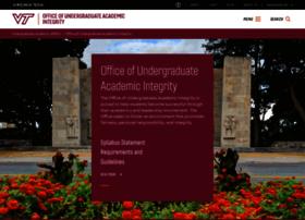 honorsystem.vt.edu