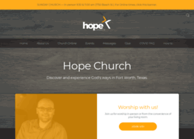 hopechurch.com