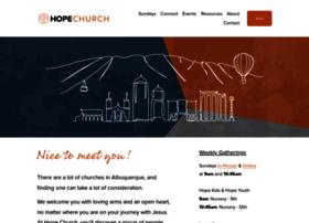 hopechurchabq.com