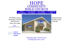hopecommunitybible.com
