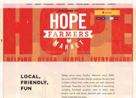 hopefarmersmarket.org