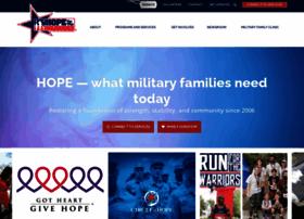 hopeforthewarriors.org