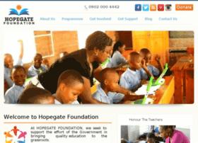 hopegatefoundation.org