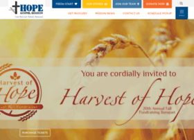 hopegospelmission.org