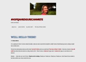 hopejahrensurecanwrite.com