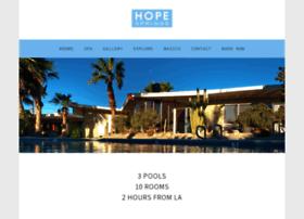 hopespringsresort.com