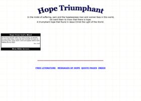 hopetriumphant.com