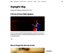 hopingfor.com