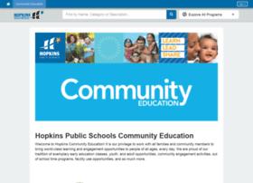 hopkins.thatscommunityed.com